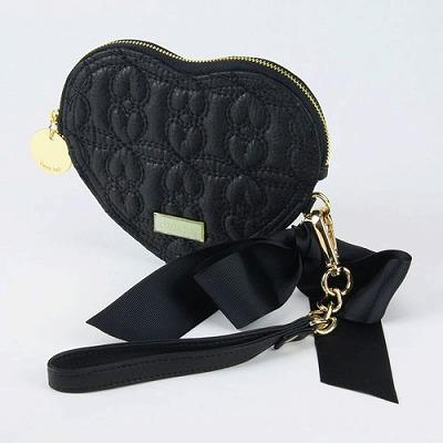 deux lux デュラックス Love Drops ラブドロップス ハート型ポーチ DL1010-13 Black ブラック