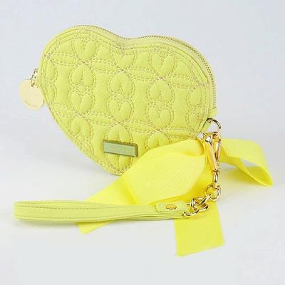 deux lux デュラックス Love Drops ラブドロップス ハート型ポーチ DL1010-13 Butter バター