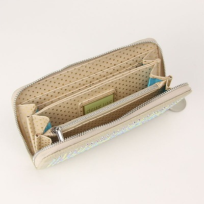 deux lux デュラックス Twinkle トゥインクル 長財布 DL1010-64 Sand サンド