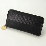 deux lux デュラックス スパンコール付ボーダー 長財布 Lucky Wallet DL812-157