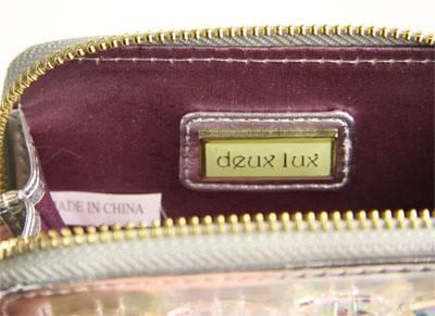 deux lux デュラックス Seychelle ビジューカードケース DL1109-121 フロスト