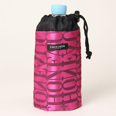 FAUCHON フォション ペットボトルケース モノグラム ピンク